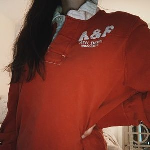 Vintage A&F rugby shirt ♡